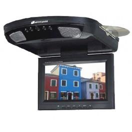 "Monitor de techo 8.5"" con DVD / USB / SD / MMC / IR / SPEED SOUND"
