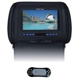 """CORVY MC 718 DVD, Monitor de cabezal 7"""" color negro"""