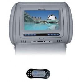 """CORVY MC 718 DVD G, Monitor de cabezal 7"""" color gris"""