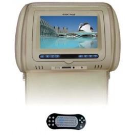 """CORVY MC 718 DVD B, Monitor de cabezal 7"""" color beige"""